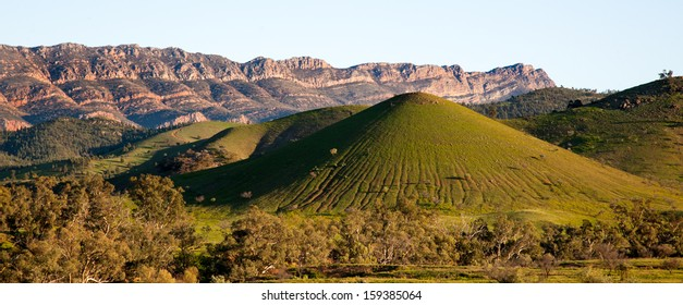 scene in Flinders Ranges Australia