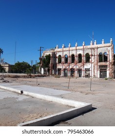 Scene of La Paz, Baja California Sur, Mexico.