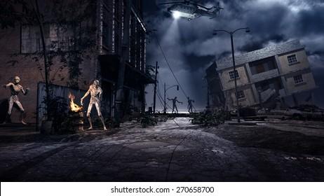 Zombie Background Imag...