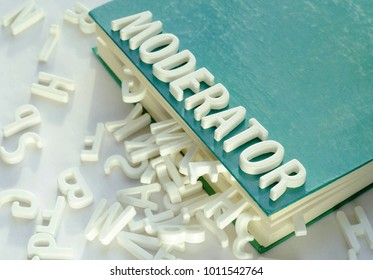 Scene Symbol of Moderation, Book and Letters On The Table