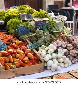 Scene taken in the most famous market of France