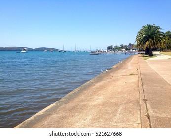 Scene of Toronto, Lake Macquarie NSW Australia.