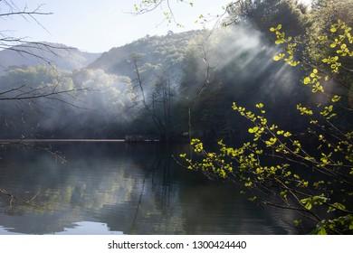 Scene of Yedigoller (Seven Lakes) National Park, Bolu