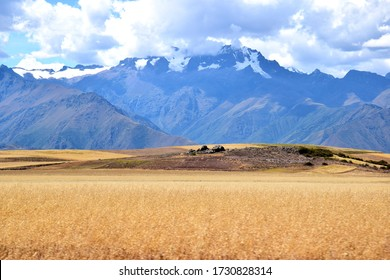 Scenery above the Sacred Valley near Cuzco, Peru