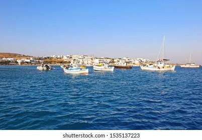 scenery of Ano Koufonisi island Cyclades Greece