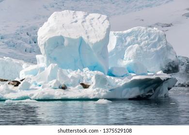 Scenery in Antarctica