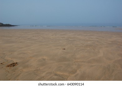 The scenery of the beach
