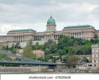 scenery at Buda Castle in Budapest, the capital city of Hungary