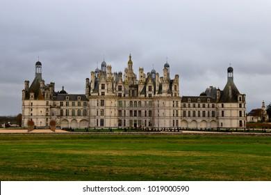 Scenery of castle