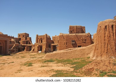 Scenery for the film, Saray Batu. Medieval city.