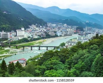 Scenery of Gero Onsen Gifu Japan