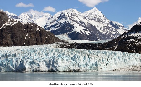 Scenery of Glacier Bay in Alaska