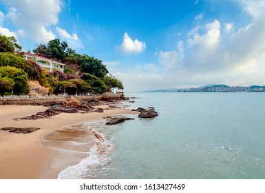 The scenery of Gulangyu in Xiamen, Fujian Province, China