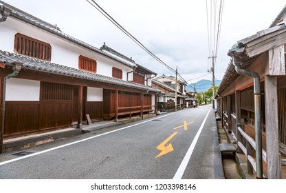 Scenery of the Hagi castle town in Yamaguchi, Japan