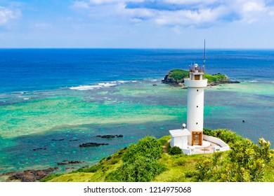 Scenery of Hirakubozaki in Ishigakijima, Okinawa