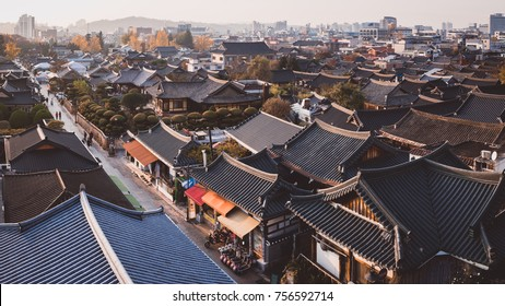 Scenery of Jeonju Hanok Village