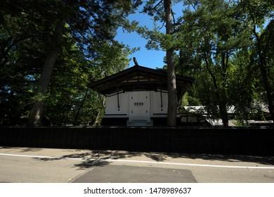 Scenery of Kakunodate, Akita, Japan