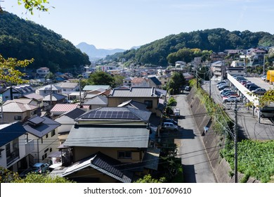 Scenery of Kannami residential area