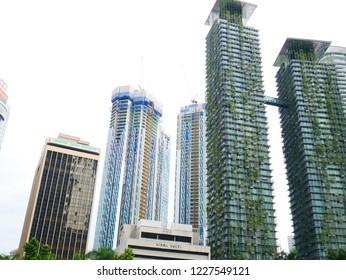 Scenery of Kuala Lumpur in Malaysia