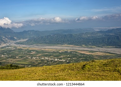 scenery of Luye landscape at Taitung, Taiwan
