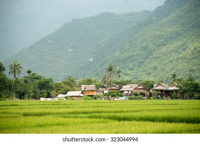 Scenery of Mai Chau in Vietnam