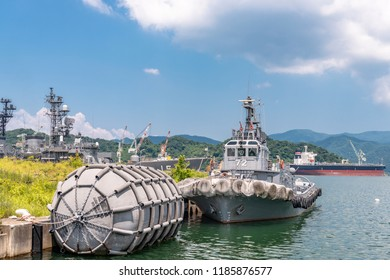 Scenery of the Maizuru port in Kyoto, Japan