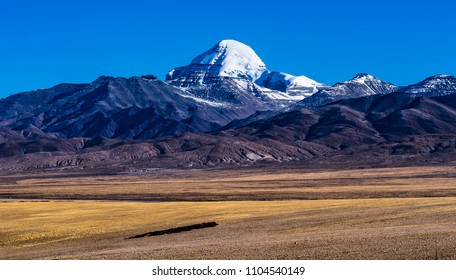 Scenery of Mount Kailash