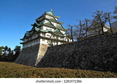 Scenery of Nagoya Castle, Nagoya, Japan : January 3, 2011