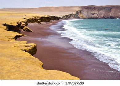 Scenery in the National Park of Paracas in Peru