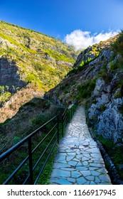 Scenery near Curral das Freiras - Madeira, Portugal