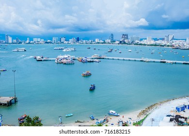 Scenery Pattaya, a city of tourism.