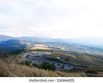 Scenery seen from the observatory of Hakone
