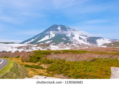 Scenery of Shiretoko Pass