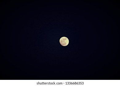 scenery super full moon in isolated and close up style so awesome outdoor pattern for abstract nature background