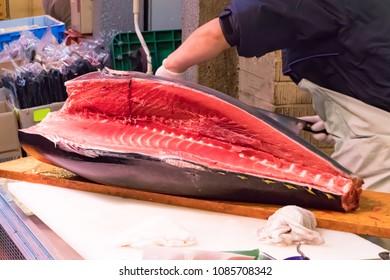Scenery of Tokyo Tsukiji