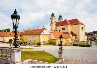 Scenery of town Valtice (South Moravia, UNESCO heritage)