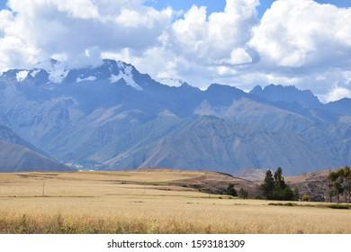 Scenery in the Urubamba Valley, Peru