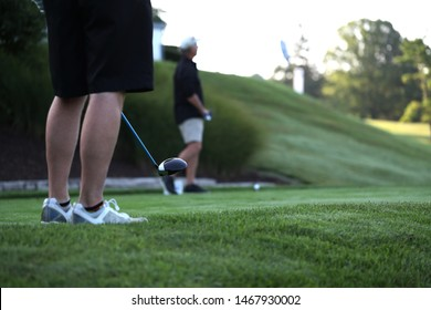 Scenes from a golf tournament