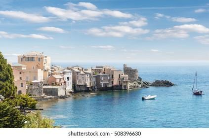 Scenic of Bastia,Corsica,France