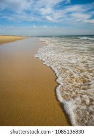 Scenic and beautiful seascape near Comporta in Portugal