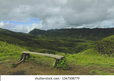 Scenic beauty of the Dzukou Valley lying between Manipur and Nagaland.