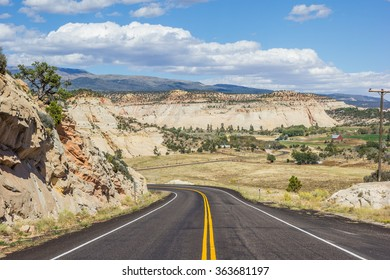 Scenic byway 12 near Boulder in Utah, USA