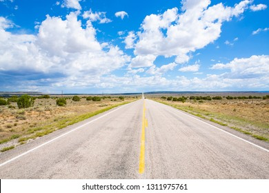 Scenic byway Route 36 in Cibola County, New Mexico, USA