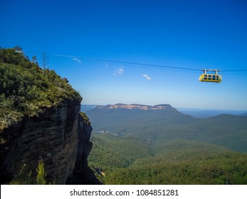 The Scenic Cableway, Blue Mountains, Australia.