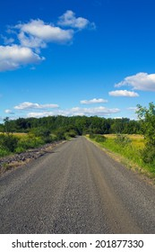 A scenic country road in rural Oregon