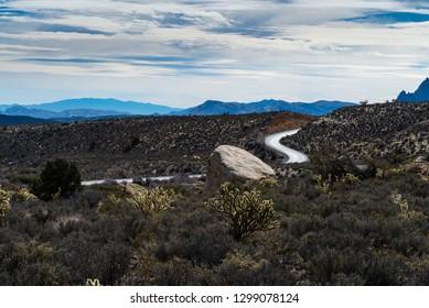 Scenic Desert Road