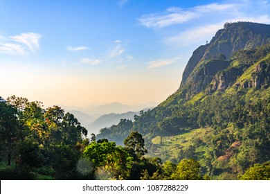 Scenic Ella Gap, Hill COuntry, Sri Lanka