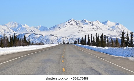 Scenic Highway in Alaska