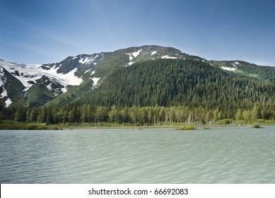 Scenic Kenai Peninsula in Alaska