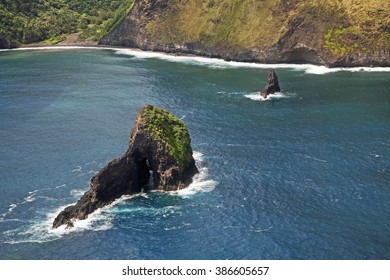 Scenic Kohala Coast, Big Island of Hawaii (taken from a helicopter)